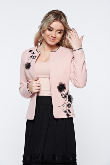 LaDonna rosa jacket elegant wool with inside lining