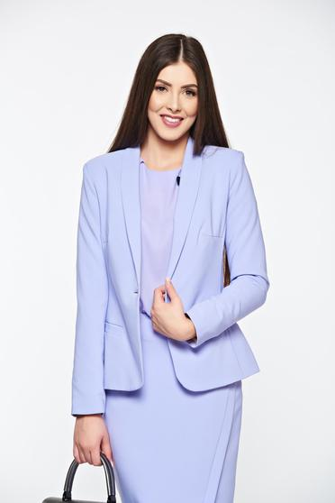 LaDonna lila jacket basic with inside lining tented