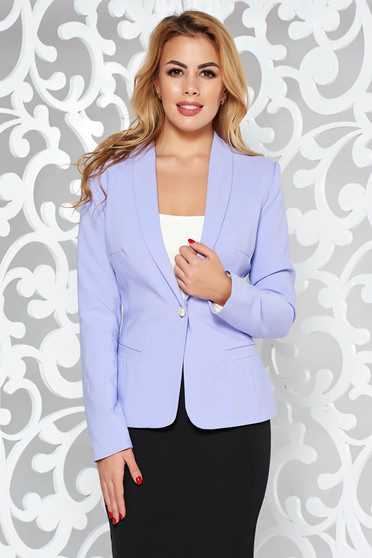 LaDonna lila jacket basic with inside lining tented soft fabric