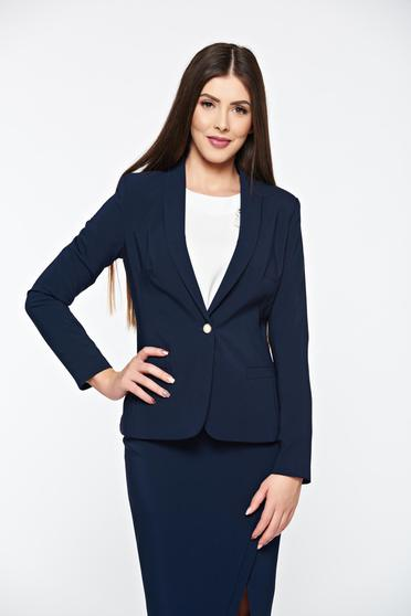LaDonna darkblue jacket basic with inside lining tented