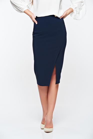 LaDonna office with inside lining darkblue skirt slightly elastic fabric