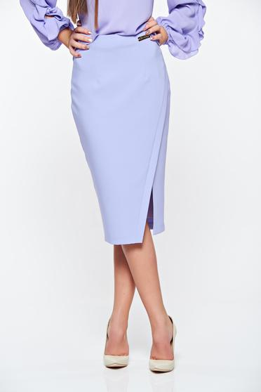 LaDonna office with inside lining lila skirt slightly elastic fabric