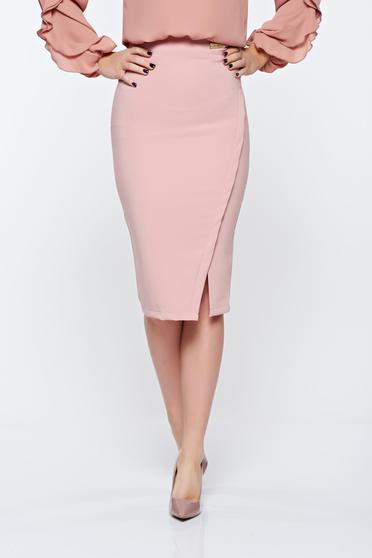 LaDonna office with inside lining rosa skirt slightly elastic fabric