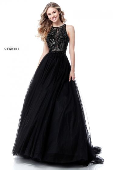 Sherri Hill 51704 Black Dress