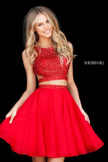Sherri Hill 51295 Red Dress