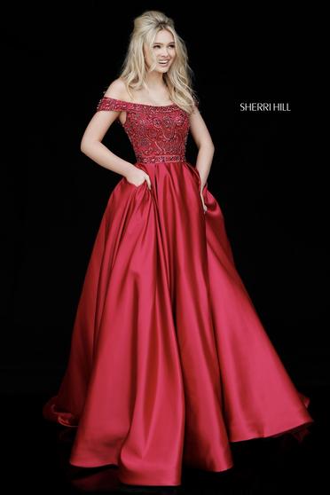 Sherri Hill 51610 Red Dress