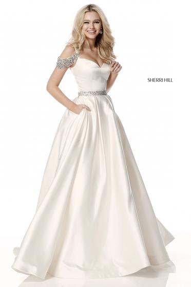 Sherri Hill 51613 White Dress