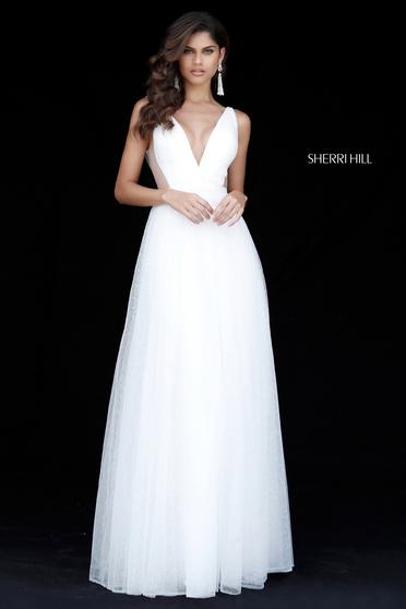 Sherri Hill 51620 White Dress