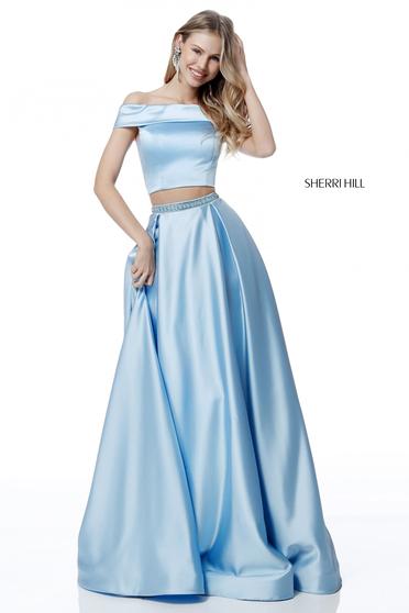 Sherri Hill 51632 LightBlue Dress