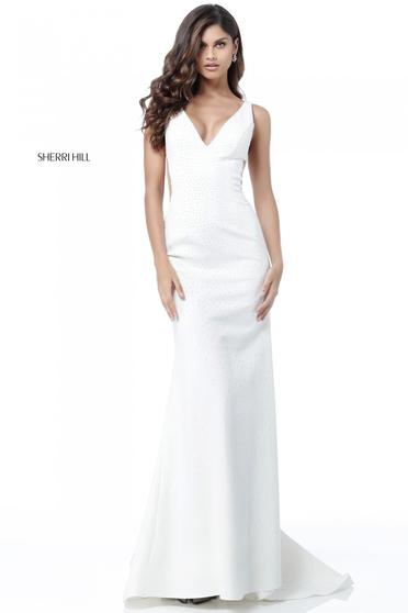 Sherri Hill 51635 White Dress