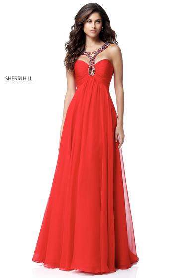 Sherri Hill 51639 Red Dress