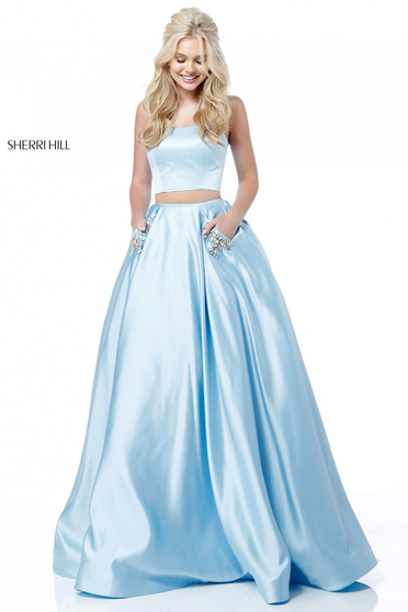 Sherri Hill 51649 LightBlue Dress