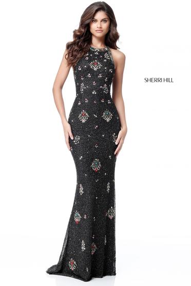 Sherri Hill 51661 Black Dress