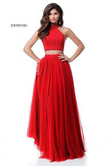 Sherri Hill 51721 Red Dress