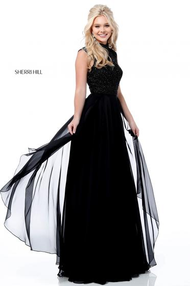 Sherri Hill 51687 Black Dress