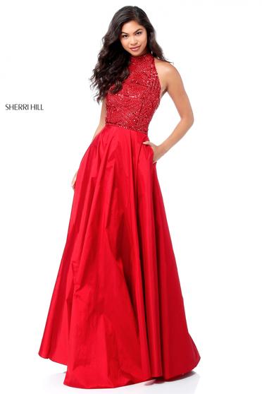 Sherri Hill 51690 Red Dress