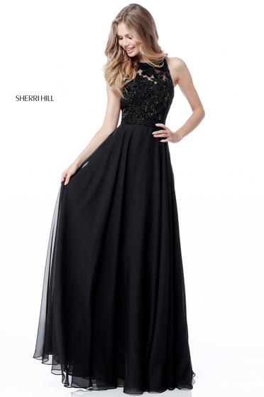 Sherri Hill 51694 Black Dress