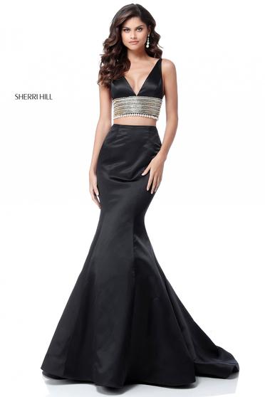 Sherri Hill 51711 Black Dress