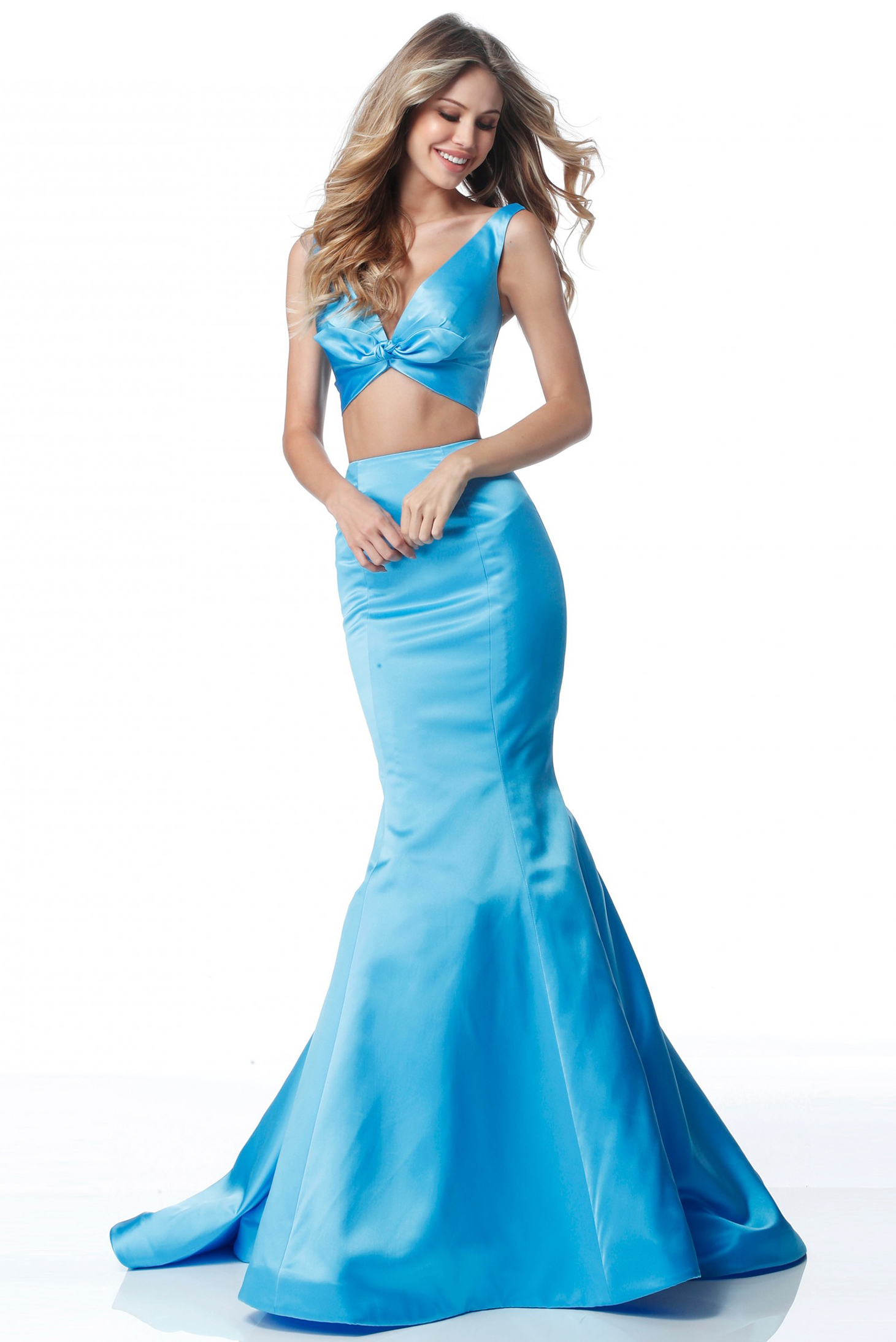 Sherri Hill 51712 Blue Dress