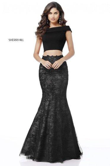 Sherri Hill 51730 Black Dress