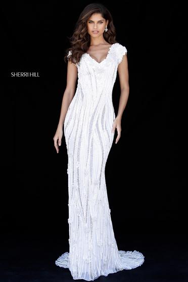 Sherri Hill 51736 White Dress