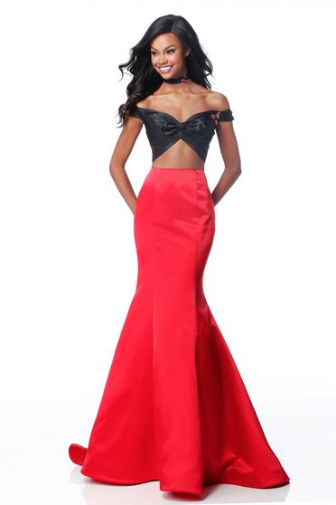 Sherri Hill 51855 Red Dress