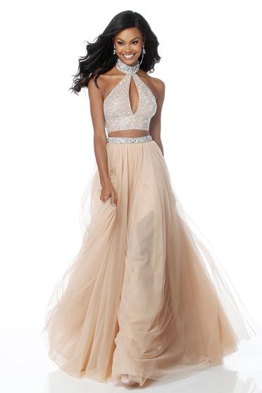 Sherri Hill 51910 Nude Dress