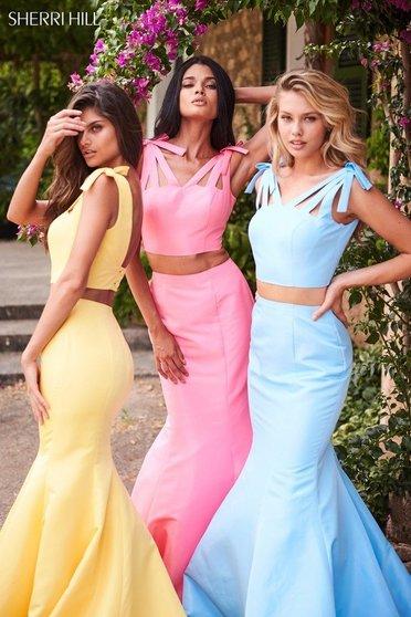 Sherri Hill 51918 LightBlue Dress