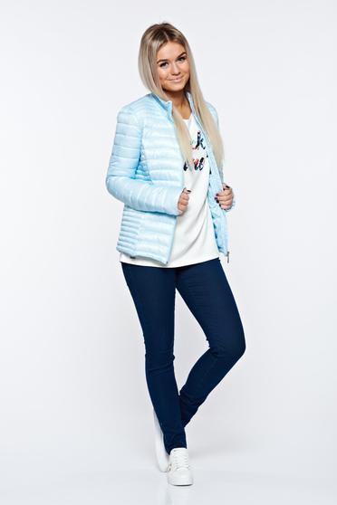 Top Secret lightblue jacket casual from slicker with pockets