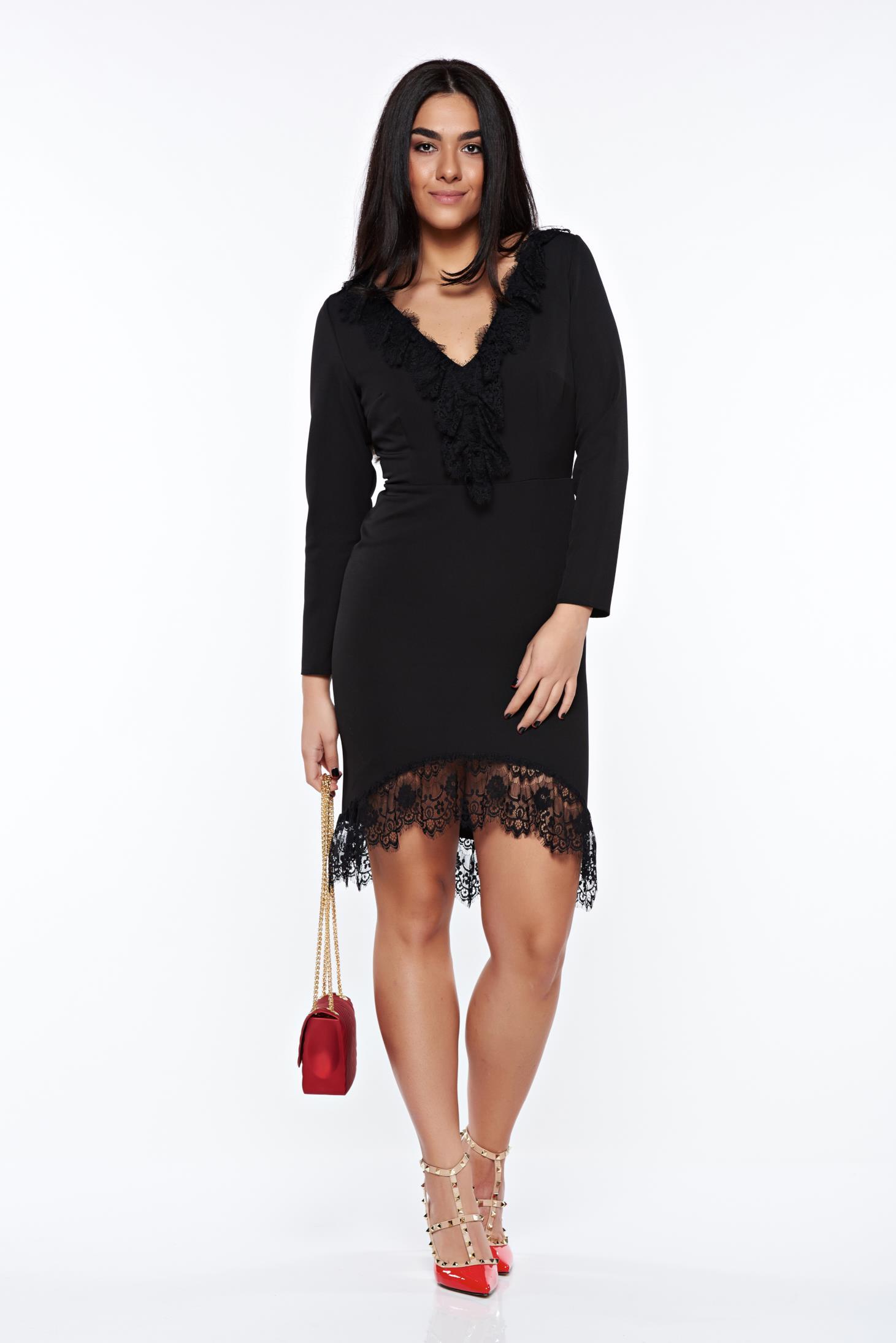 Elegant Black Dresses Fall