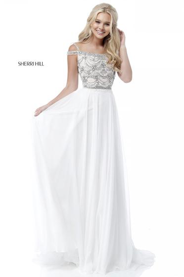 Sherri Hill 51658 White Dress