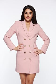 LaDonna rosa dress blazer type with inside lining office with v-neckline
