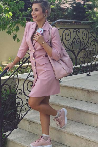 LaDonna rosa dress blazer type with inside lining office with v-neckline