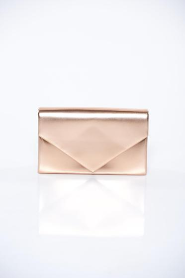 Lightpink bag clutch long chain handle elegant