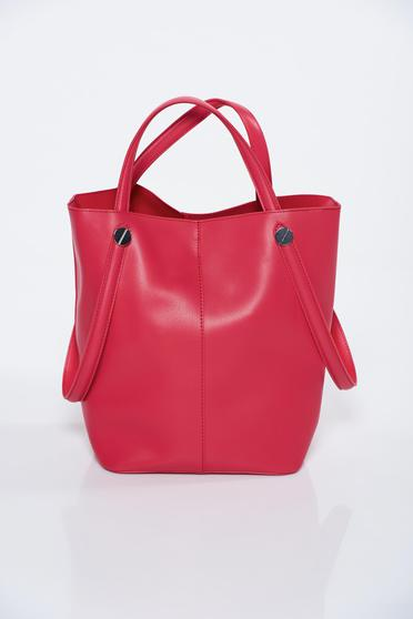 Top Secret red bag casual from ecological leather