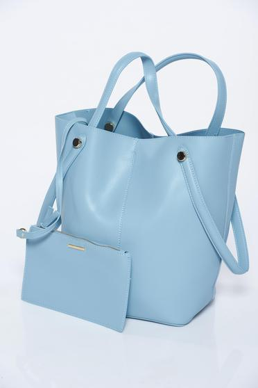 Top Secret lightblue bag casual from ecological leather
