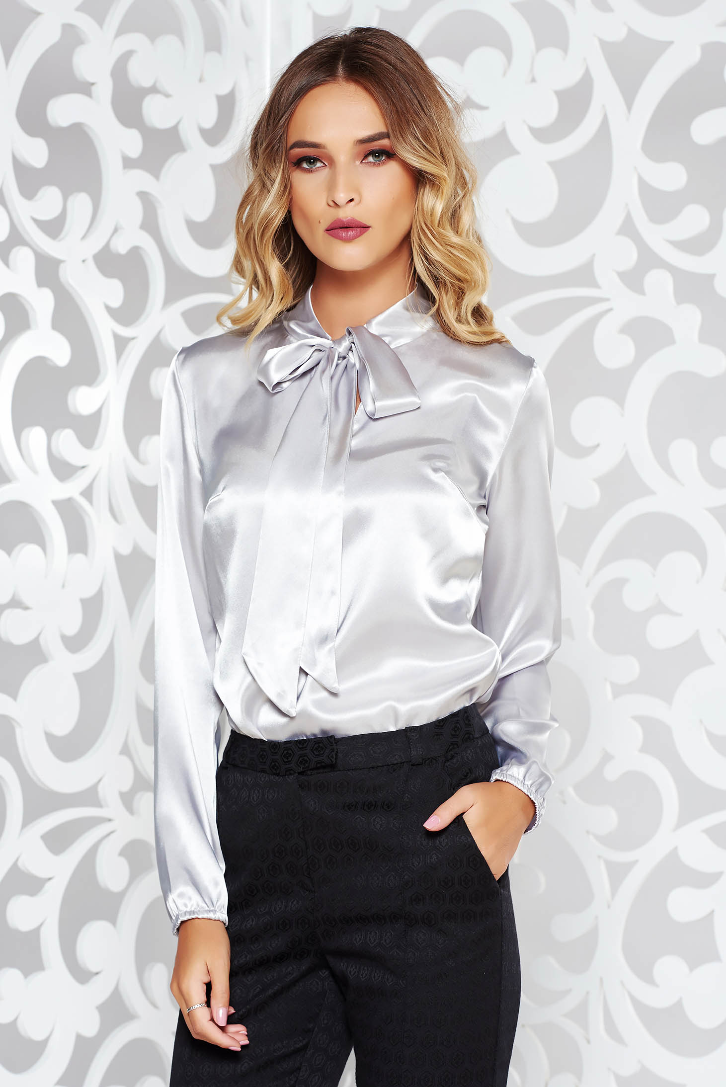Greylady S Hearth February 2014: StarShinerS Grey Women`s Blouse Elegant With Easy Cut From