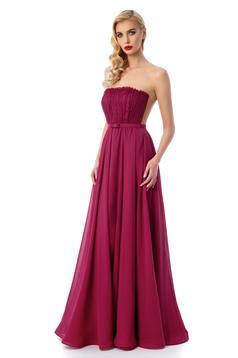 ana radu delicious lace burgundy dress