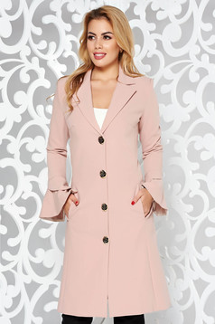 LaDonna rosa elegant trenchcoat slightly elastic fabric with inside lining