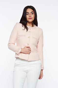 LaDonna rosa elegant tented jacket nonelastic cotton with inside lining