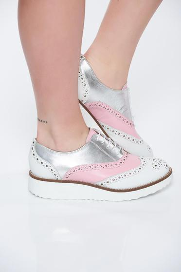 Rosa shoes casual natural leather low heel