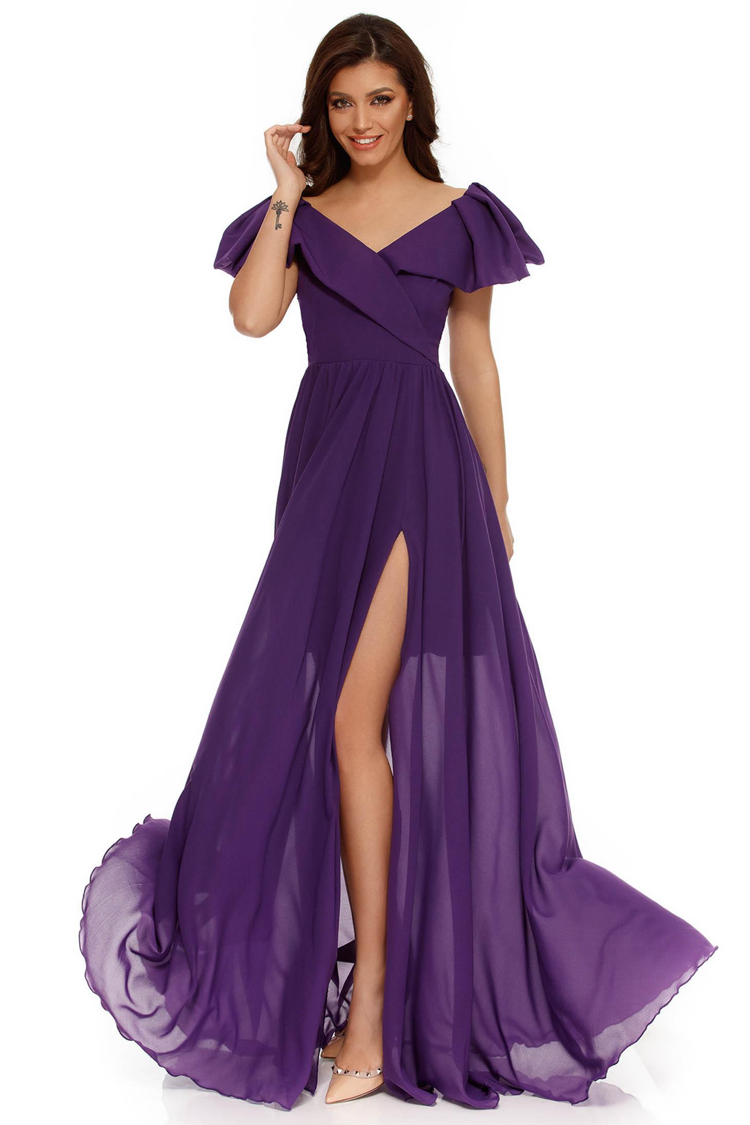 Imagini pentru Rochie violet