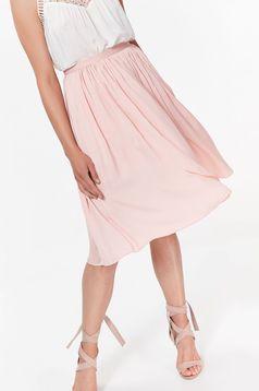 Top Secret rosa elegant cloche skirt high waisted airy fabric