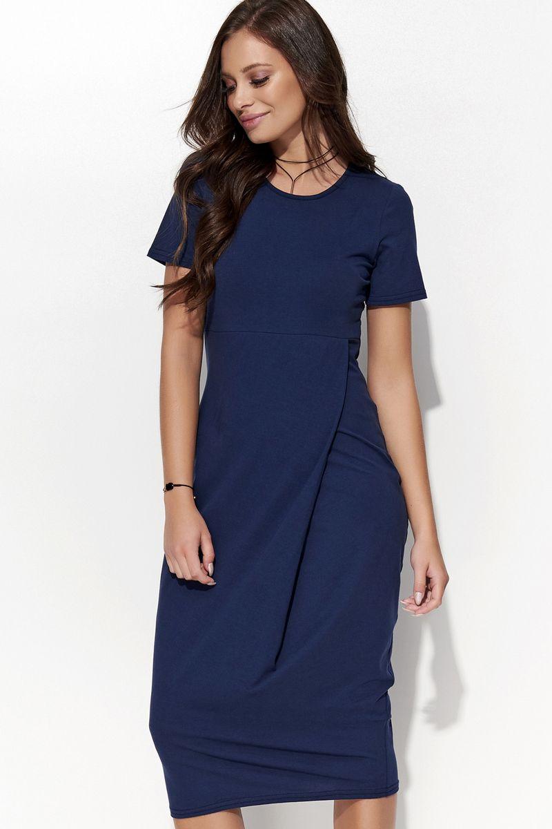 Folly darkblue dress casual short