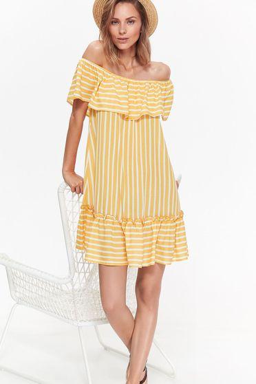Top Secret S036858 Yellow Dress