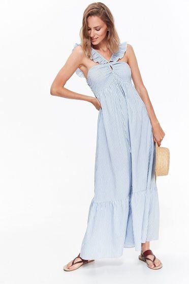 Top Secret blue dress
