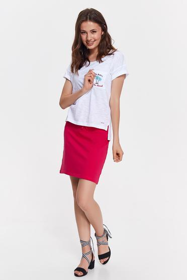 Top Secret S037033 White T-Shirt