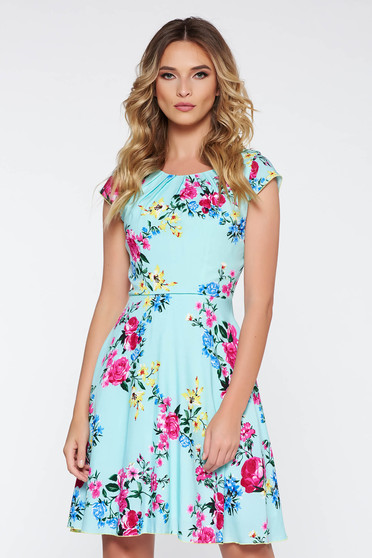 Mint daily cloche dress airy fabric nonelastic fabric with inside lining