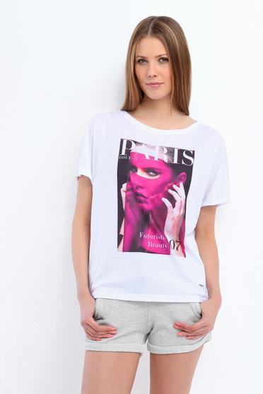 Top Secret S037326 White T-Shirt