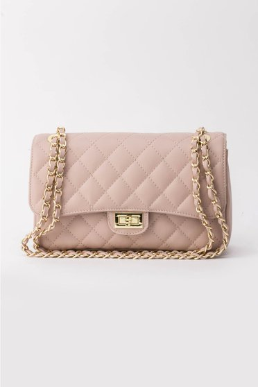 Rosa bag natural leather long chain handle